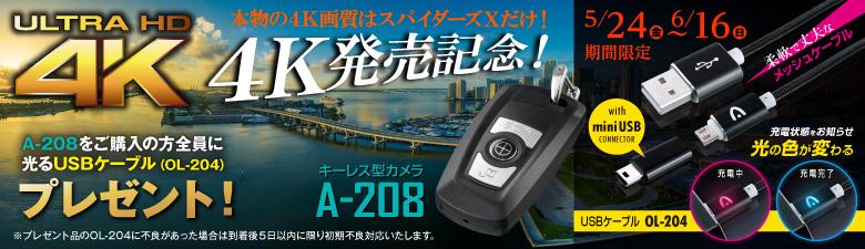 A-208購入者プレゼント